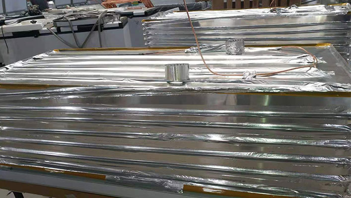 HVAC aluminum foil tapes are used to channels or coils expanding the area of thermal exchange.