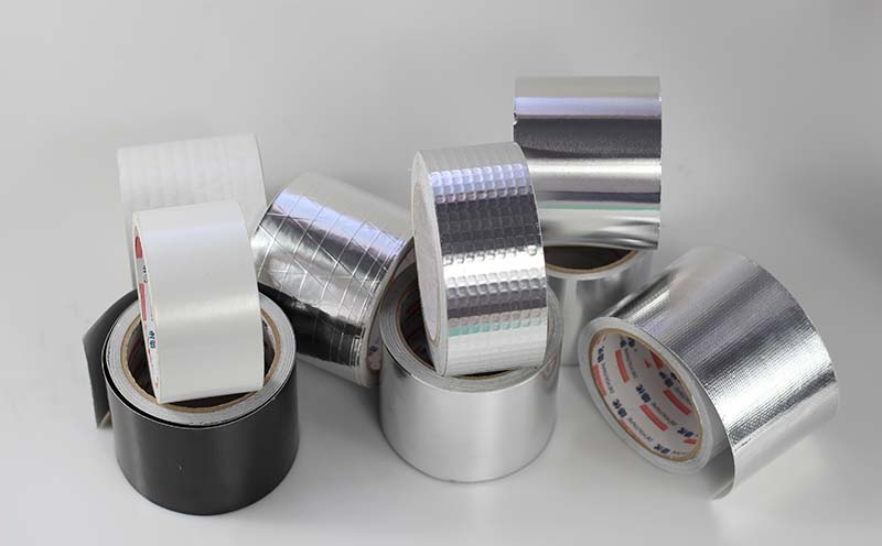 HVAC tape with Rubber Adhesive
