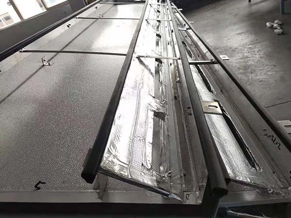 Aluminum foil tapes for train