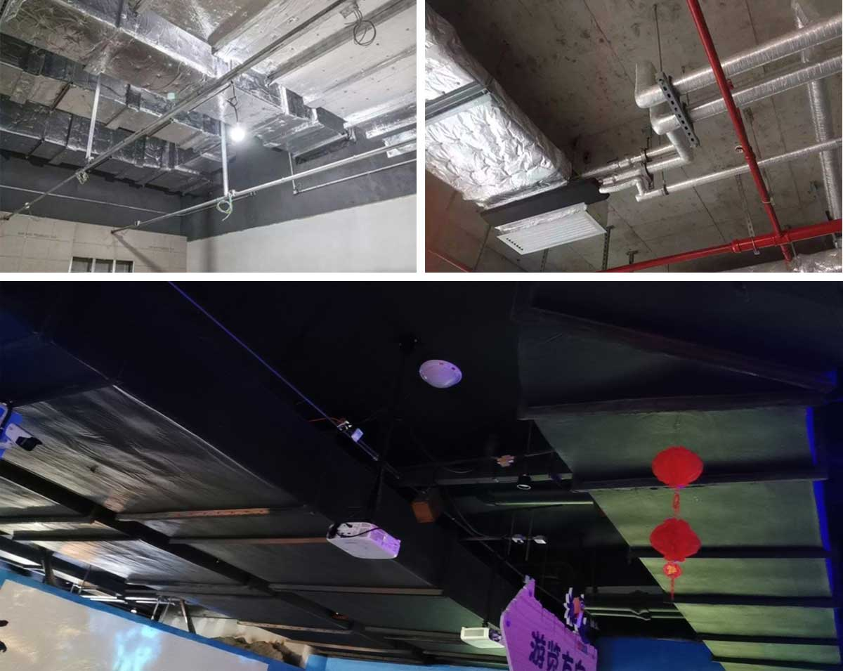 Hvac Aluminum Foil Tape application for Air conditioning and Ventilation ductworks