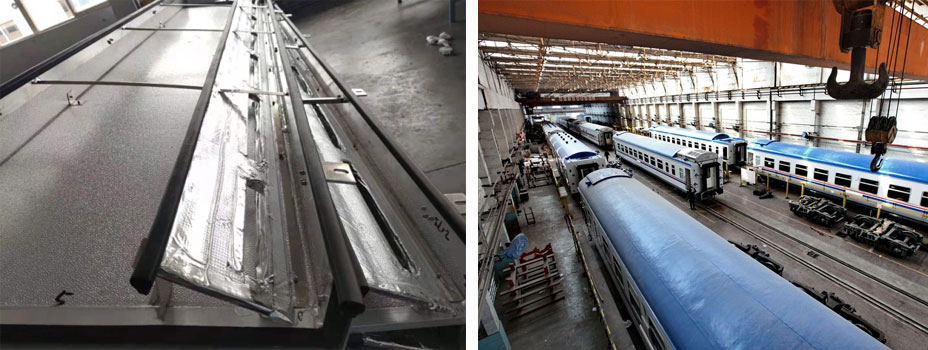 HVAC Aluminum Foil tape offers used for train