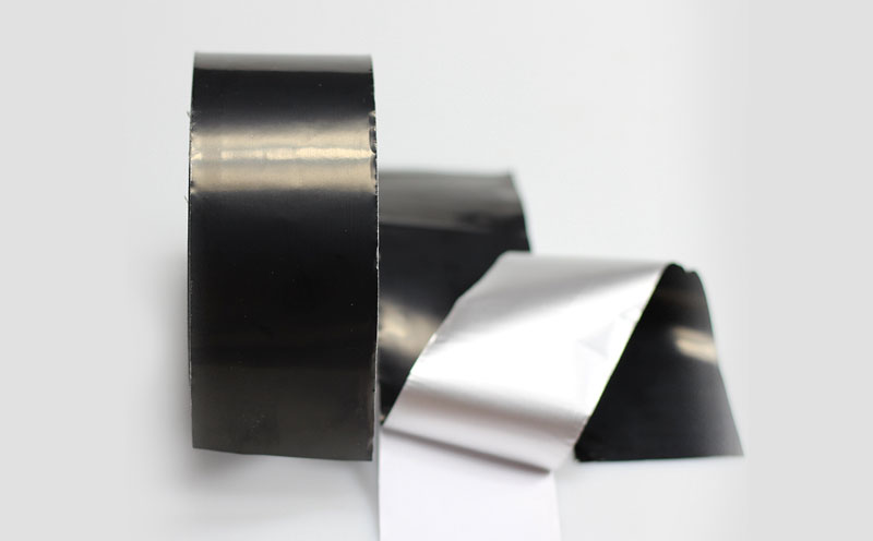 Black Lacquered Aluminum Foil Tape