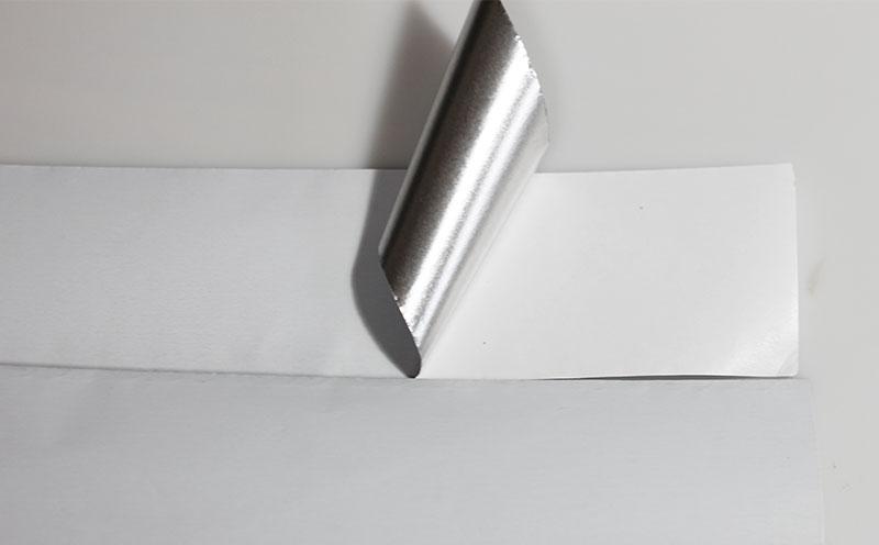 White Color Lacquered Aluminum Foil Tape