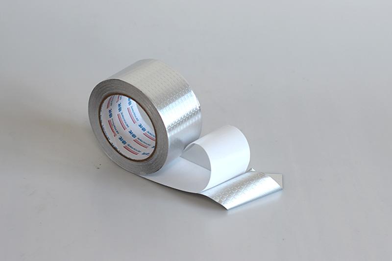 Rubber Adhesive Aluminum Foil TapeAFR5090