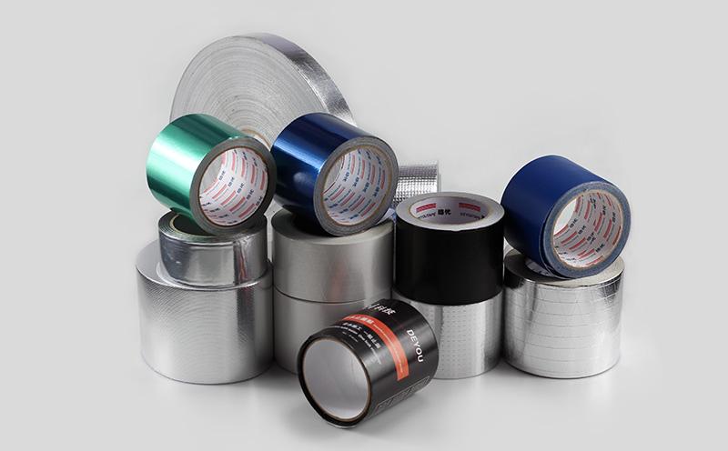 Rubber Adhesive Aluminum Foil Tape
