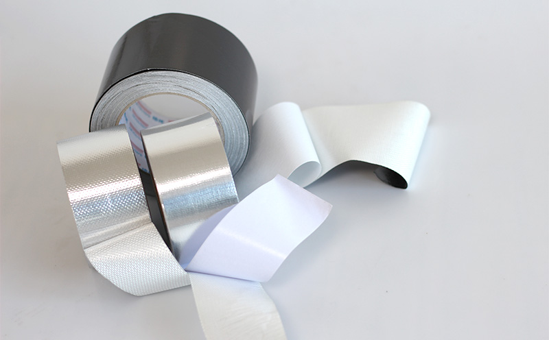 What temperature can aluminum foil tape withstand?